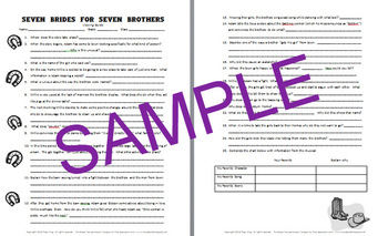 Seven Brides for Seven Brothers View Guide Worksheet