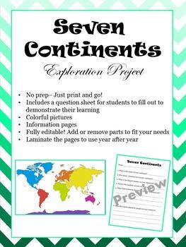 Seven Continents Exploration Project