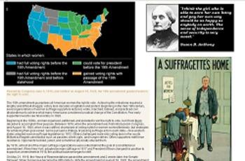 Seven Grade Social Studies Task - Women's Suffrage Movement