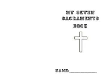 Seven Sacraments book