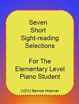 Seven Short Sight-reading Selections For The Elementary Pi