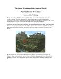 Seven Wonders of the Ancient World, Plus Six Bonus Wonders