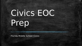Seventh Grade Florida Civics Practice EOC with answers