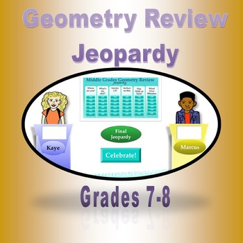 Seventh Grade Geometry Review Game