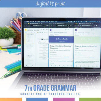 Seventh Grade Grammar Bundle