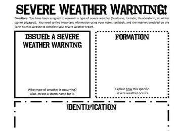 Severe Weather Warning! Report