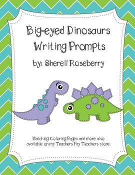 Sew Cute Dinosaurs: Dinosaur Themed Writing Prompts