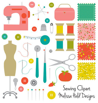 Clipart: Sewing Clip Art