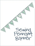 Sewing Pennant Banner