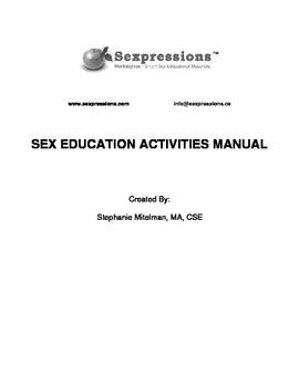 Sex Education Activities Manual