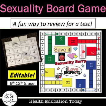 Health Lesson: Sexuality Board Game: A Fun Way to Review f