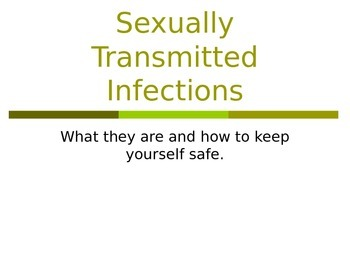 Sexually Transmitted Infections Powerpoint