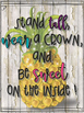Shabby Bright Inspirational Posters