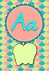 Shabby Chic Alphabet Posters Upper and Lower Case