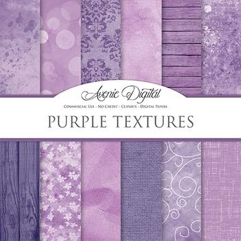 Shabby chic Purple Textures Background Digital Paper scrap