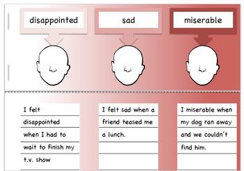 Shades of Emotion for Vocabulary and Pragmatics
