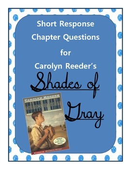 Shades of Gray Chapter Questions