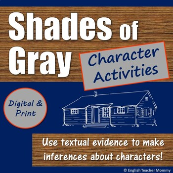 Shades of Gray Characterization with Text Evidence