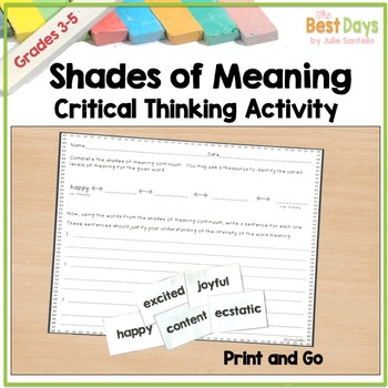 Shades of Meaning 8 Pack