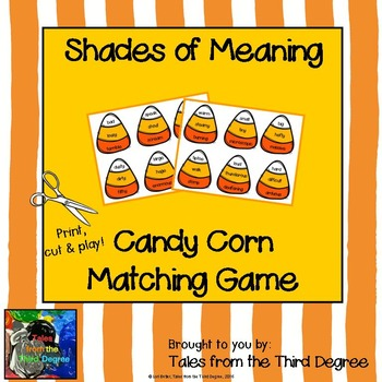 Shades of Meaning Candy Corn Game