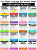 Shades of Meaning Common Core Practice Sheets L.1.5.d