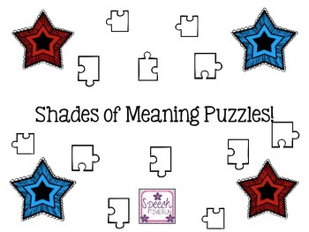 Shades of Meaning Puzzles