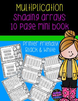 Shading Arrays Multiplication Mini-Book