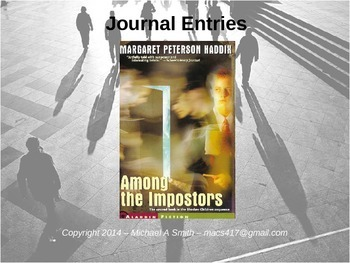 Among the Imposters - Journal Response Questions - Margare
