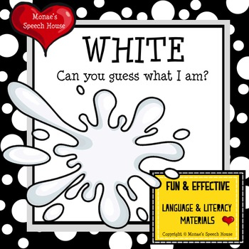 COLORS WHITE SHADOW BOOK