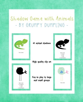 Shadow Game With Animals