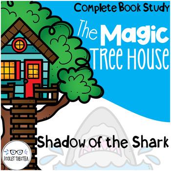 Shadow of the Shark Magic Tree House Novel Unit