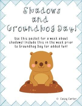 Shadows and Groundhog Day Fun