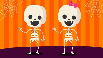 Shake Dem Skeleton Bones Music Video for Halloween