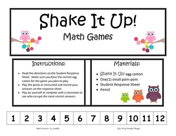 Shake It Up!  Multiples & Factors (Basic)