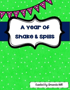Shake & Spill All Year Long!