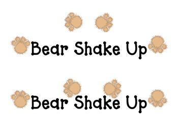 Shake Up:  Bear