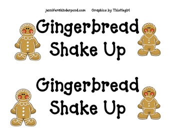 Shake Up:  Gingerbread