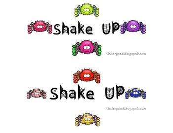 Shake Up:  Spider Bright