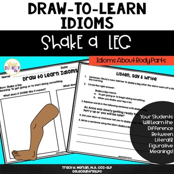 Shake a Leg - Draw to Learn Idioms