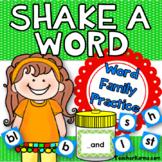 Word Family -  Decoding, Phonics, & Fluency - Word Study -