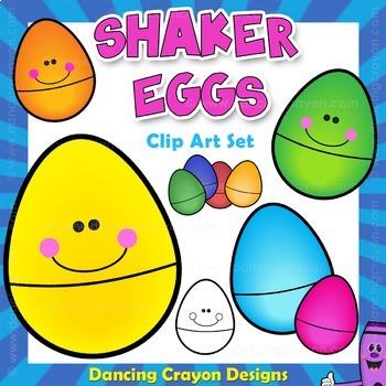 Shaker Eggs - Musical Instrument Clip Art