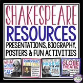 SHAKESPEARE INTRODUCTORY PRE-READING RESOURCES: Presentati