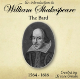 Shakespeare Life & Times Introduction Powerpoint Presentation