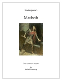 Shakespeare: Macbeth: Two Crossword Puzzles