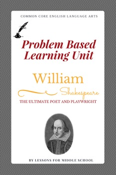 Shakespeare PBL for Middle School ELA