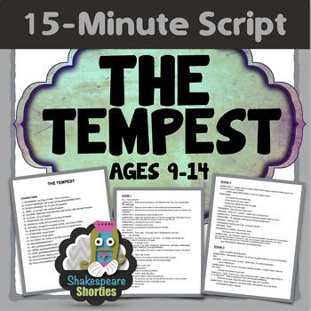 The Tempest - 15-Minute Script