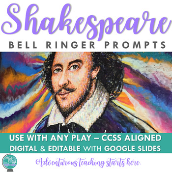 Shakespeare Common Core Bell Ringers: Your First Five Minu