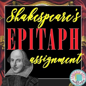 Shakespeare's Epitaph Assignment
