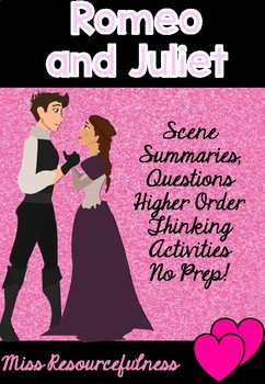 Shakespeare's Romeo and Juliet Unit