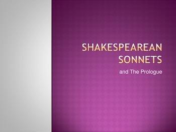 Shakespearean Sonnet PowerPoint
